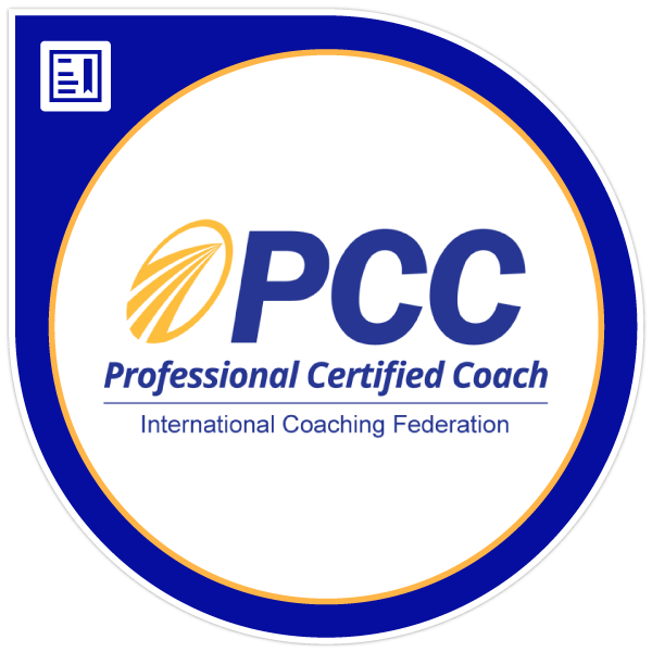 International Coaching Federation PCC professional certified coach